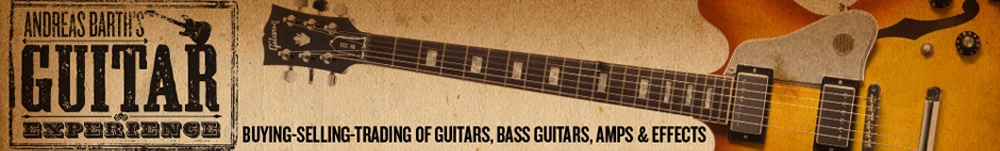 Andreas Barth's Guitar Experience